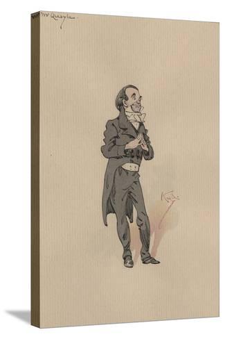 Mr Quayle, C.1920s-Joseph Clayton Clarke-Stretched Canvas Print
