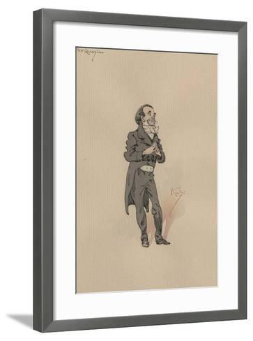 Mr Quayle, C.1920s-Joseph Clayton Clarke-Framed Art Print