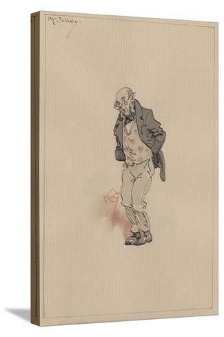 Mr Jellaby, C.1920s-Joseph Clayton Clarke-Stretched Canvas Print