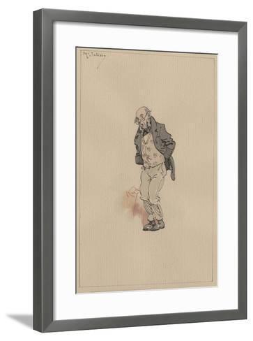 Mr Jellaby, C.1920s-Joseph Clayton Clarke-Framed Art Print