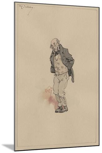 Mr Jellaby, C.1920s-Joseph Clayton Clarke-Mounted Giclee Print