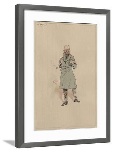 Mr Bagnet, C.1920s-Joseph Clayton Clarke-Framed Art Print