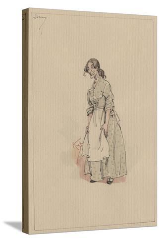 Jenny, C.1920s-Joseph Clayton Clarke-Stretched Canvas Print