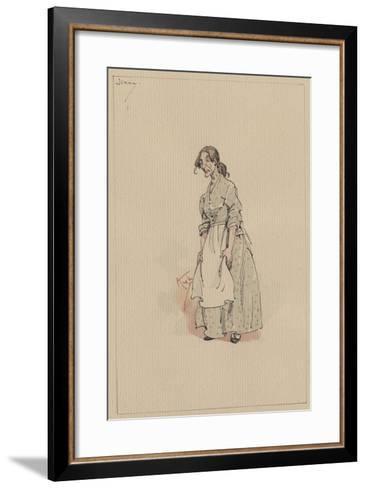 Jenny, C.1920s-Joseph Clayton Clarke-Framed Art Print