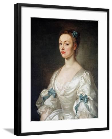 Elizabeth Drake-Isaac Whood-Framed Art Print