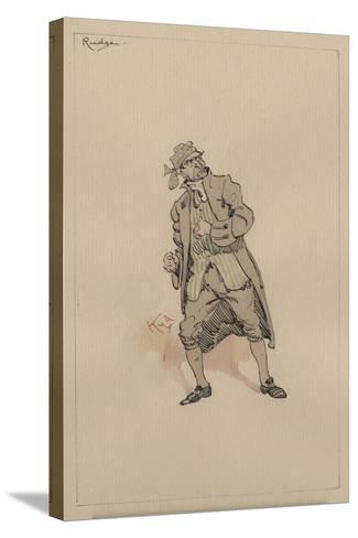 Barnaby Rudge Sr, C.1920s-Joseph Clayton Clarke-Stretched Canvas Print