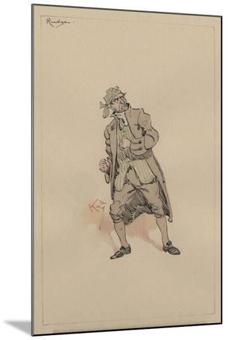 Barnaby Rudge Sr, C.1920s-Joseph Clayton Clarke-Mounted Giclee Print