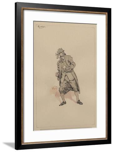 Barnaby Rudge Sr, C.1920s-Joseph Clayton Clarke-Framed Art Print