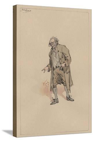 Stagg, C.1920s-Joseph Clayton Clarke-Stretched Canvas Print