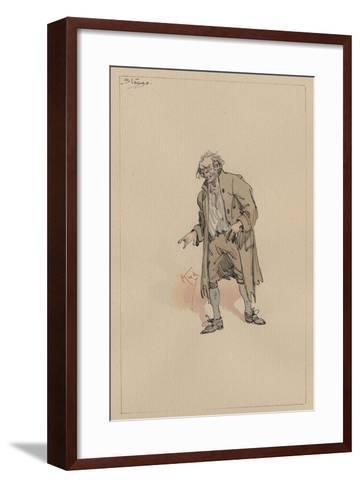 Stagg, C.1920s-Joseph Clayton Clarke-Framed Art Print