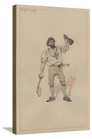 Maypole Hugh, C.1920s-Joseph Clayton Clarke-Stretched Canvas Print
