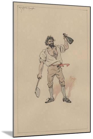 Maypole Hugh, C.1920s-Joseph Clayton Clarke-Mounted Giclee Print