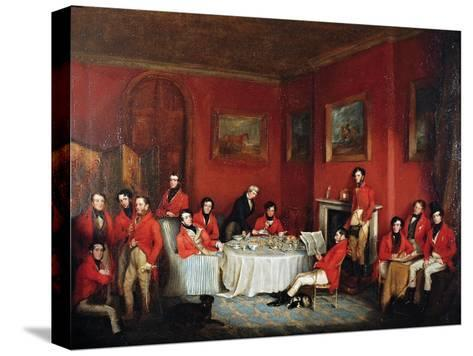 The Melton Hunt Breakfast-Sir Francis Grant-Stretched Canvas Print