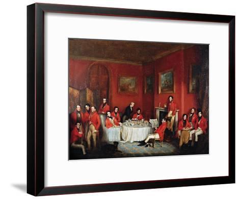 The Melton Hunt Breakfast-Sir Francis Grant-Framed Art Print
