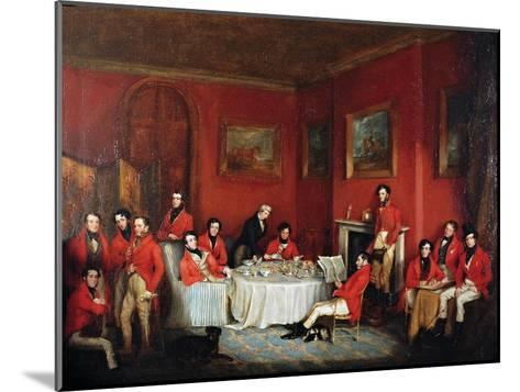 The Melton Hunt Breakfast-Sir Francis Grant-Mounted Giclee Print