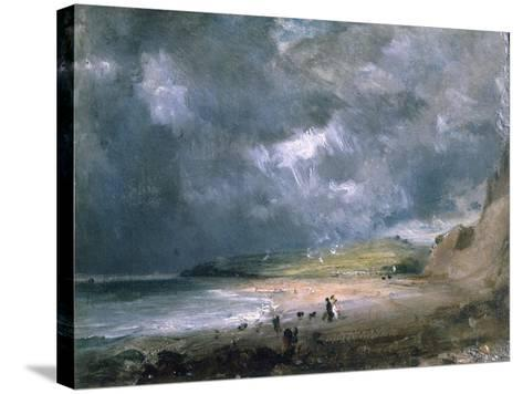 Weymouth Bay, 1816-John Constable-Stretched Canvas Print