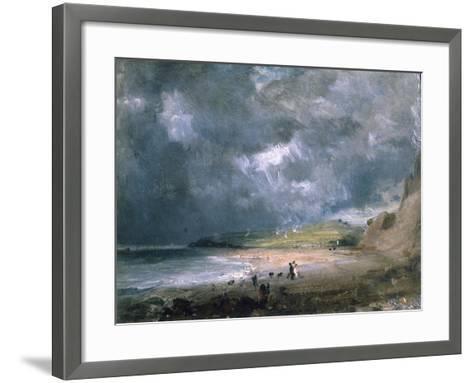 Weymouth Bay, 1816-John Constable-Framed Art Print