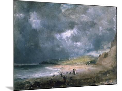 Weymouth Bay, 1816-John Constable-Mounted Giclee Print