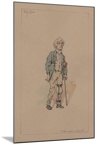 Tiny Tim - a Christmas Carol, C.1920s-Joseph Clayton Clarke-Mounted Giclee Print