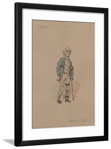 Tiny Tim - a Christmas Carol, C.1920s-Joseph Clayton Clarke-Framed Art Print