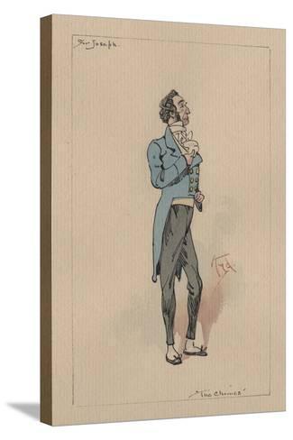 Sir Joseph Bowley - the Chimes, C.1920s-Joseph Clayton Clarke-Stretched Canvas Print