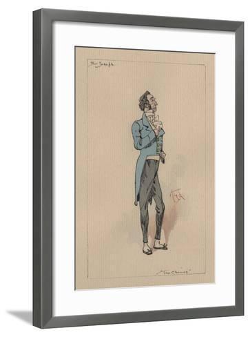 Sir Joseph Bowley - the Chimes, C.1920s-Joseph Clayton Clarke-Framed Art Print