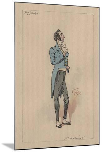 Sir Joseph Bowley - the Chimes, C.1920s-Joseph Clayton Clarke-Mounted Giclee Print