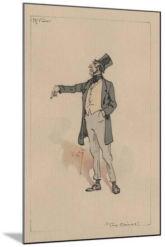 Mr Filer - the Chimes, C.1920s-Joseph Clayton Clarke-Mounted Giclee Print