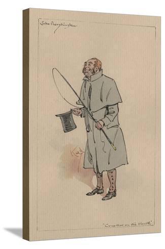 John Peerybingle - the Cricket on the Hearth, C.1920s-Joseph Clayton Clarke-Stretched Canvas Print