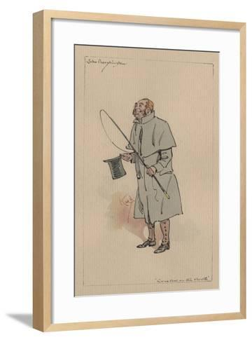 John Peerybingle - the Cricket on the Hearth, C.1920s-Joseph Clayton Clarke-Framed Art Print