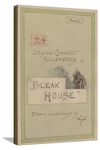 Title Page, Illustrations for 'Bleak House', Part 1, C.1920s-Joseph Clayton Clarke-Stretched Canvas Print