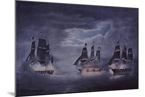 Uss Constitution--Mounted Giclee Print