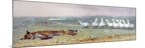 A Game of Fox and Geese, 1868-Briton Rivi?re-Mounted Giclee Print