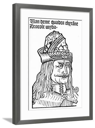 Dracula (Vlad Tepes), 1488-93-German School-Framed Art Print