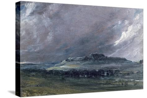 Old Sarum-John Constable-Stretched Canvas Print