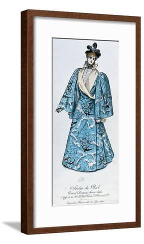 Coat for Leaving a Ball, 1894-Charles Frederick Worth-Framed Art Print