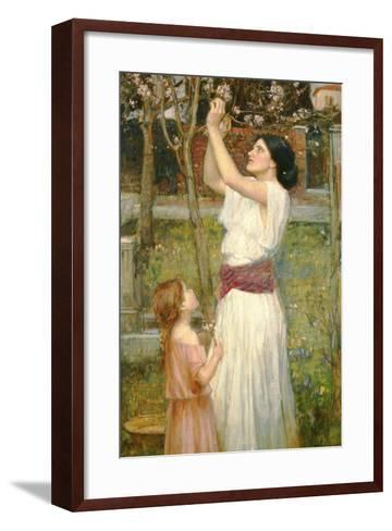 Almond Blossoms, C.1916-John William Waterhouse-Framed Art Print