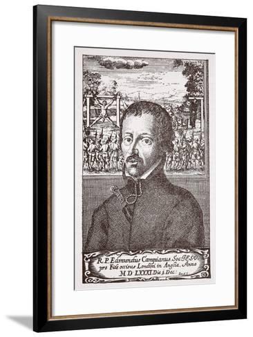 Edmund Campion--Framed Art Print