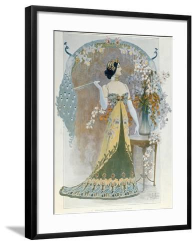 Essay on a Modern Style, C.1899-Louis Chalon-Framed Art Print