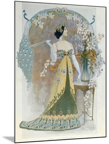 Essay on a Modern Style, C.1899-Louis Chalon-Mounted Giclee Print