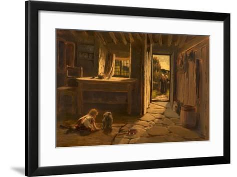 Cronies, 1884-Buckley Ousey-Framed Art Print