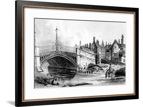 Newport Pagnell, Bucks, 1819-John Hassell-Framed Art Print