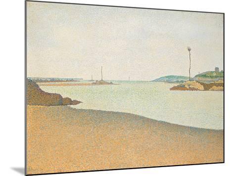 Les Balises, Saint-Briac, 1890-Paul Signac-Mounted Giclee Print