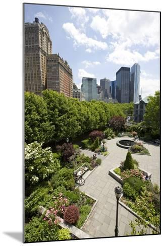 Robert Wagner Park Near Battery Park--Mounted Photographic Print