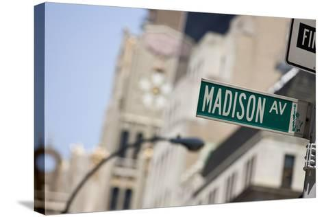 Madison Avenue--Stretched Canvas Print