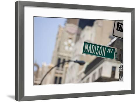 Madison Avenue--Framed Art Print