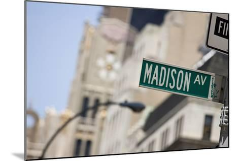 Madison Avenue--Mounted Photographic Print