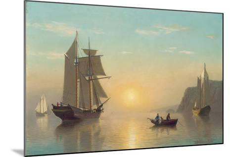 Sunset Calm in the Bay of Fundy, C.1860-William Bradford-Mounted Giclee Print