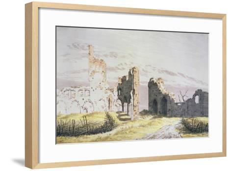 Elden Monastery-Caspar David Friedrich-Framed Art Print