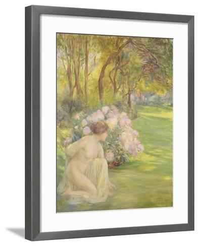 Flora-Clementine-helene Dufau-Framed Art Print